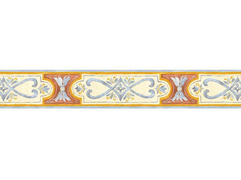 Bordo adesivo vinilico 3d intarsio azzurro acquista da obi for Adesivi per mobili leroy merlin