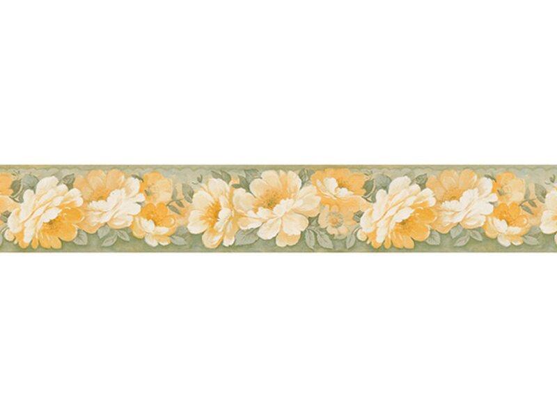 Bordo adesivo vinilico 3d rose giallo verde acquista da obi for Bordi adesivi decorativi
