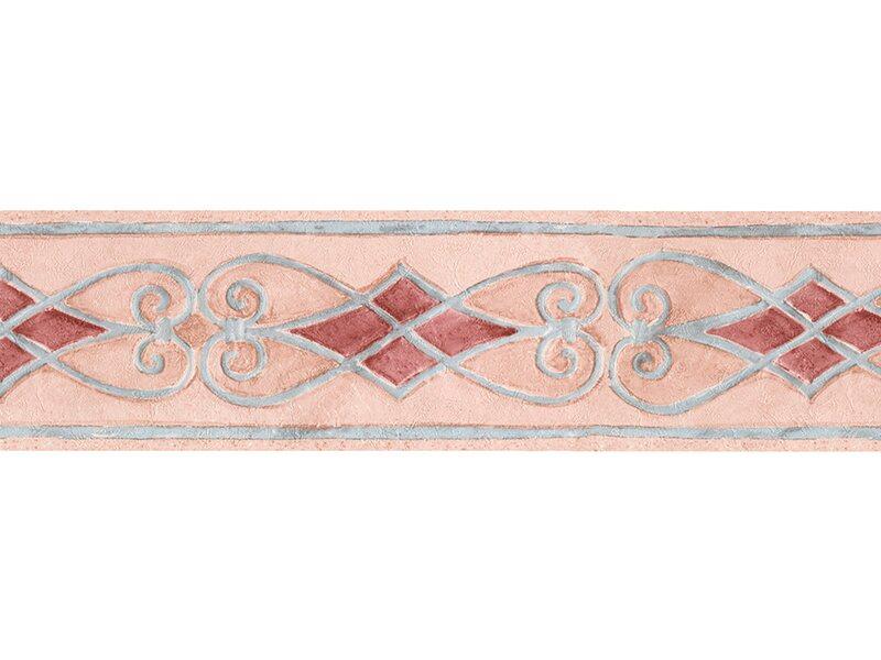 Bordo adesivo vinilico 3d atene rosa acquista da obi for Greche decorative per cucina