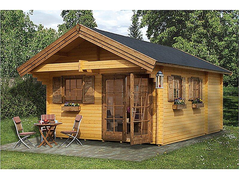 Casetta da giardino in legno m ritz acquista da obi for Casette legno obi