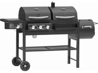 Jamestown Dean barbecue combinato con affumicatore