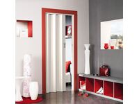 Porta soffietto axia bianco venato acquista da obi for Porte a soffietto obi